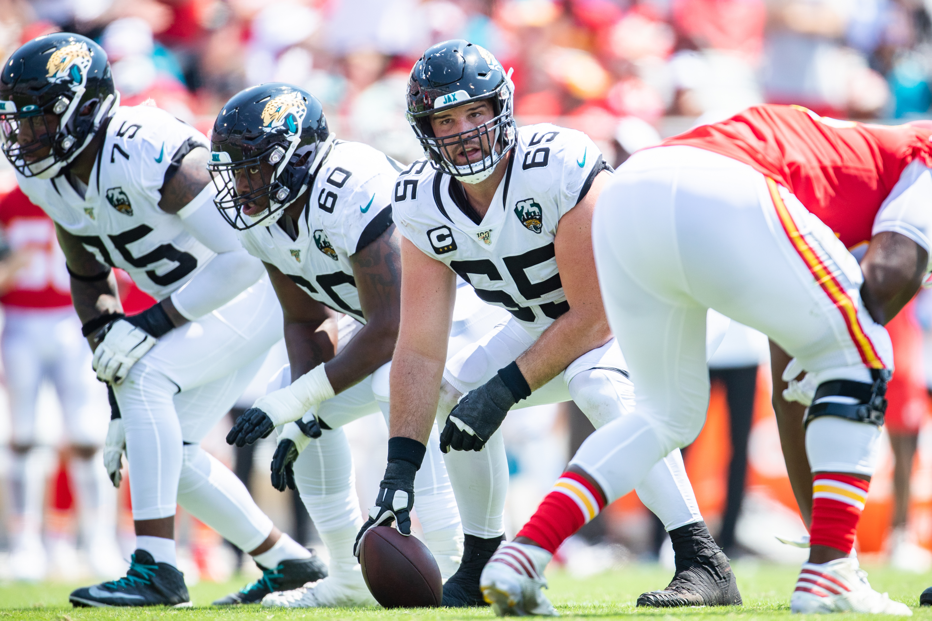 The Jacksonville Jaguars O-Line is the worst in the AFC South